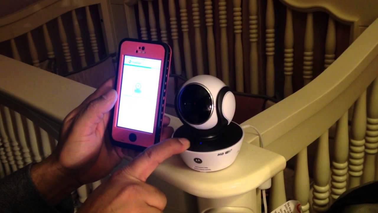 Motorola MBP854 kameralı bebek telsizi