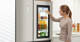 Kapısı otomatik açılabilen buzdolabı