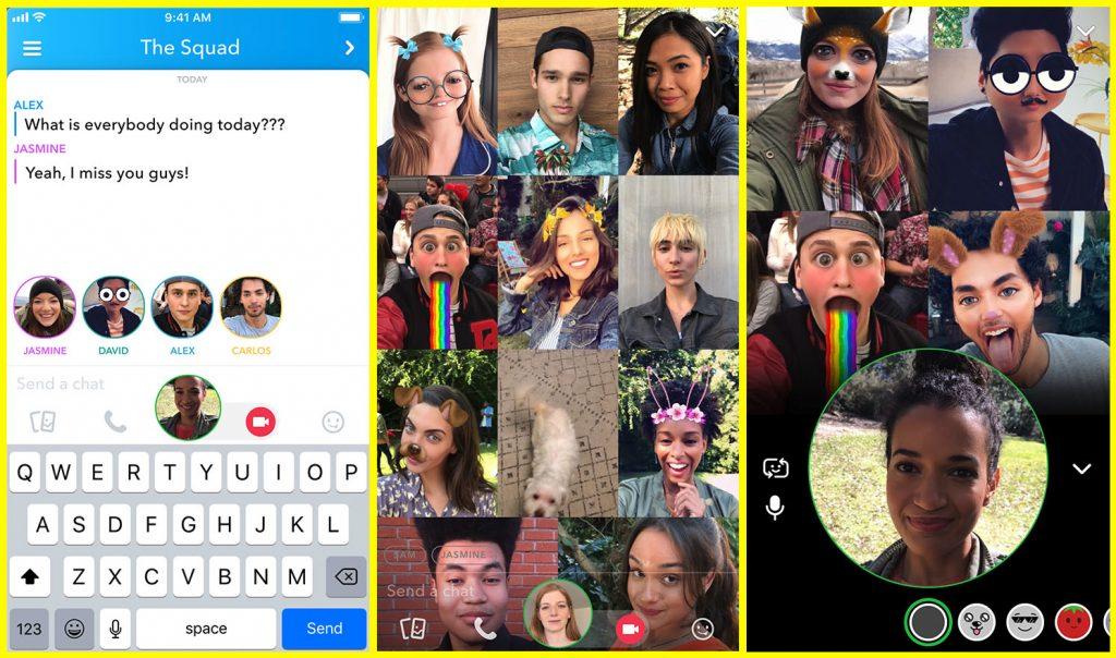 Snapchat güncelleme