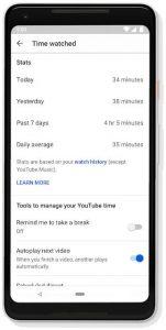 YouTube, video izlemek için ne kadar zaman harcadığımızı görebilmemizi kolaylaştırıyor!