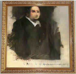 Yapay zeka tarafından oluşturulan portre, bu hafta New York'ta müzayede!