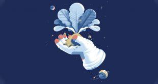NASA uzayda sebze yetiştiriyor