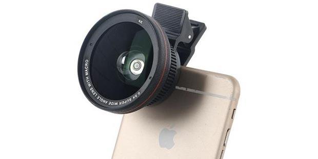 akıllı telefon lensi