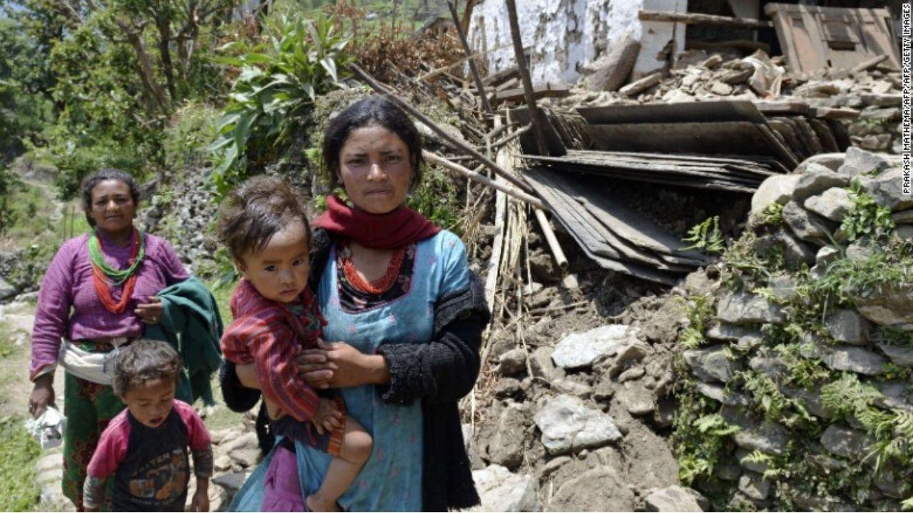depremler ve kadın