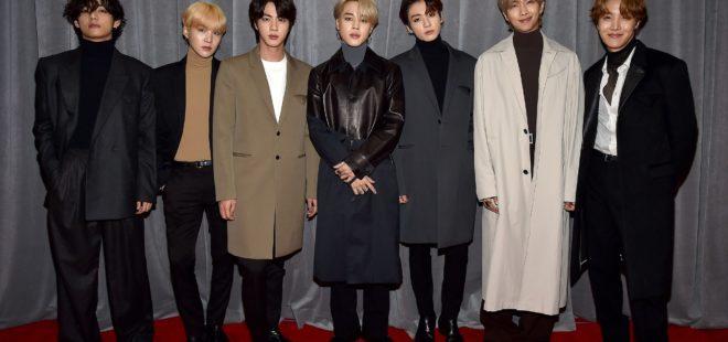Grammy Ödülleri BTS