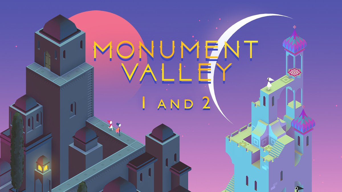 Monument Valley 1 ve 2
