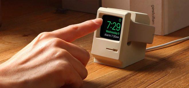 Apple Watch için çok tatlı şarj stantları