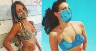 Bikini ile uyumlu maske