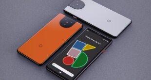 Google Pixel 5 tasarımı