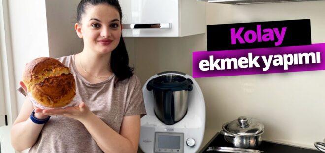 Thermomix TM5 ile evde ekmek yapımı