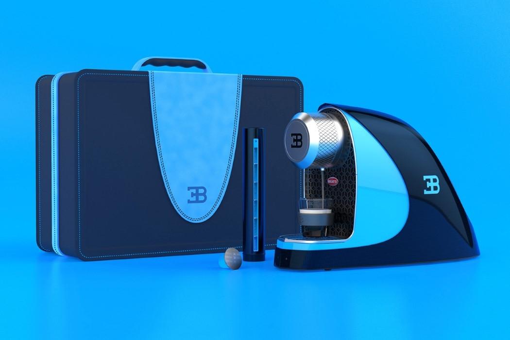 Bugatti tasarımlı espresso makinesi
