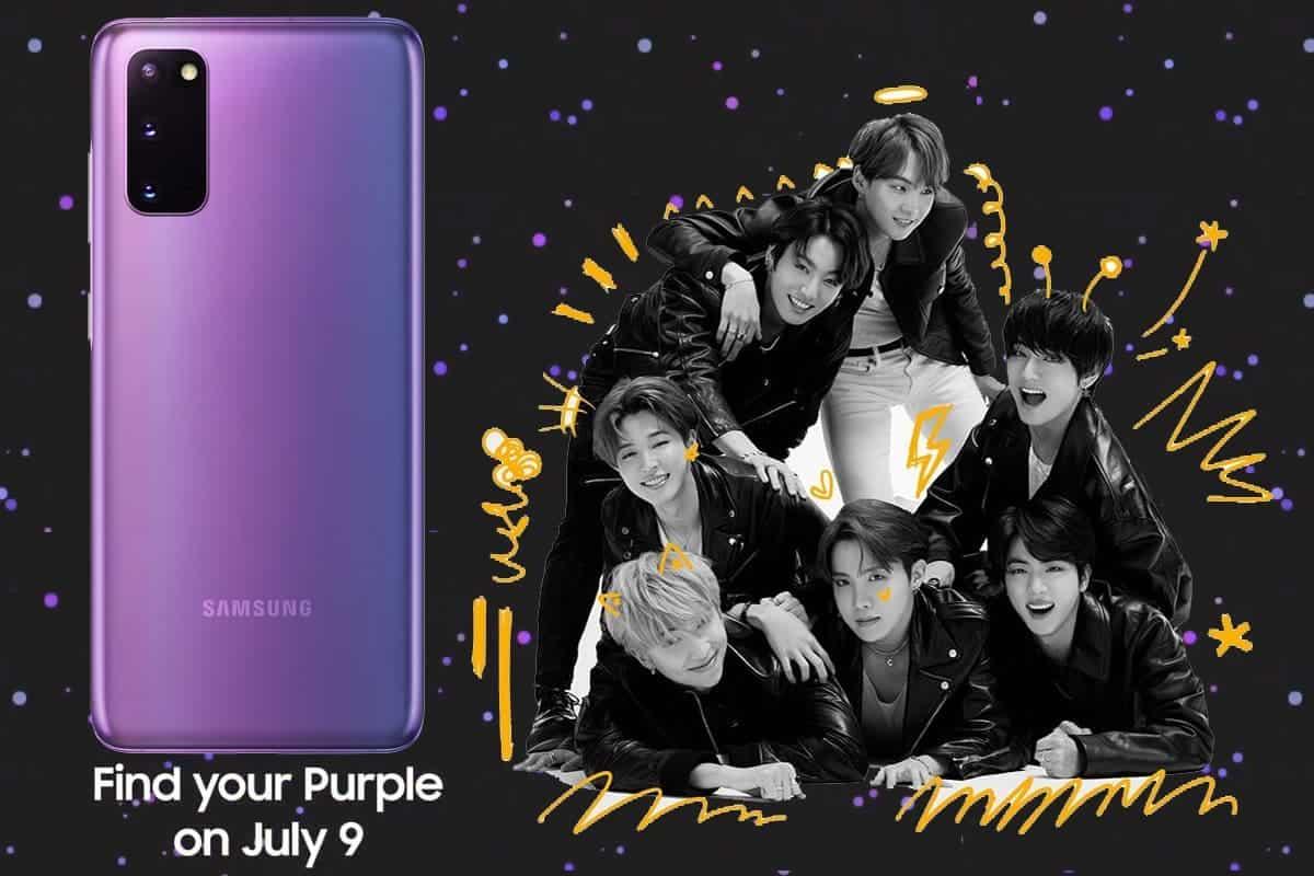 Samsung Galaxy S20 Plus-bts-koleksiyonu