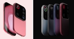 iPhone moduler kamera tasarimi