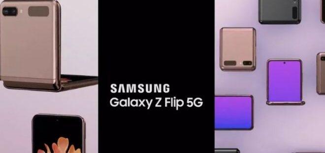 5G özellikli Galaxy Z Flip