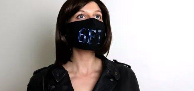 LED özellikli maske