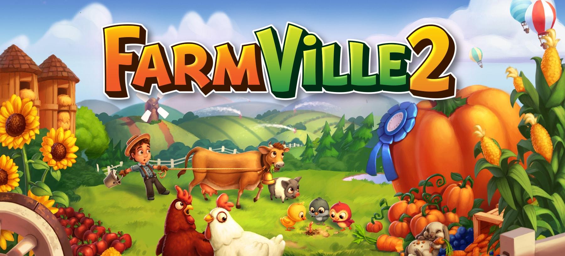FarmVille, facebook