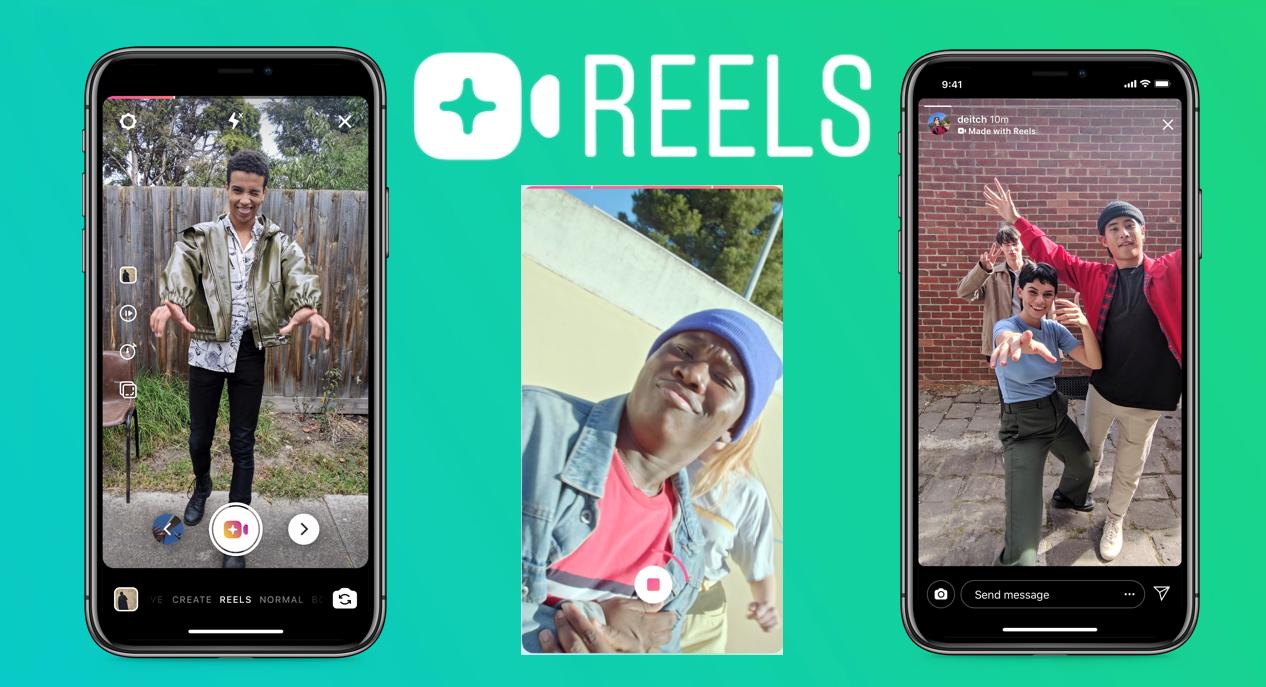 Instagram Reels, TikTok, sosyal medya uygulamaları