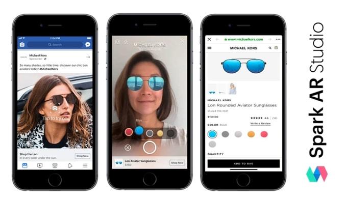 facebook AR efektleri, ar efektleri,