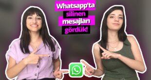 WhatsApp'te silinen mesajlar