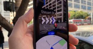 google haritalar canlı görünüm, live view