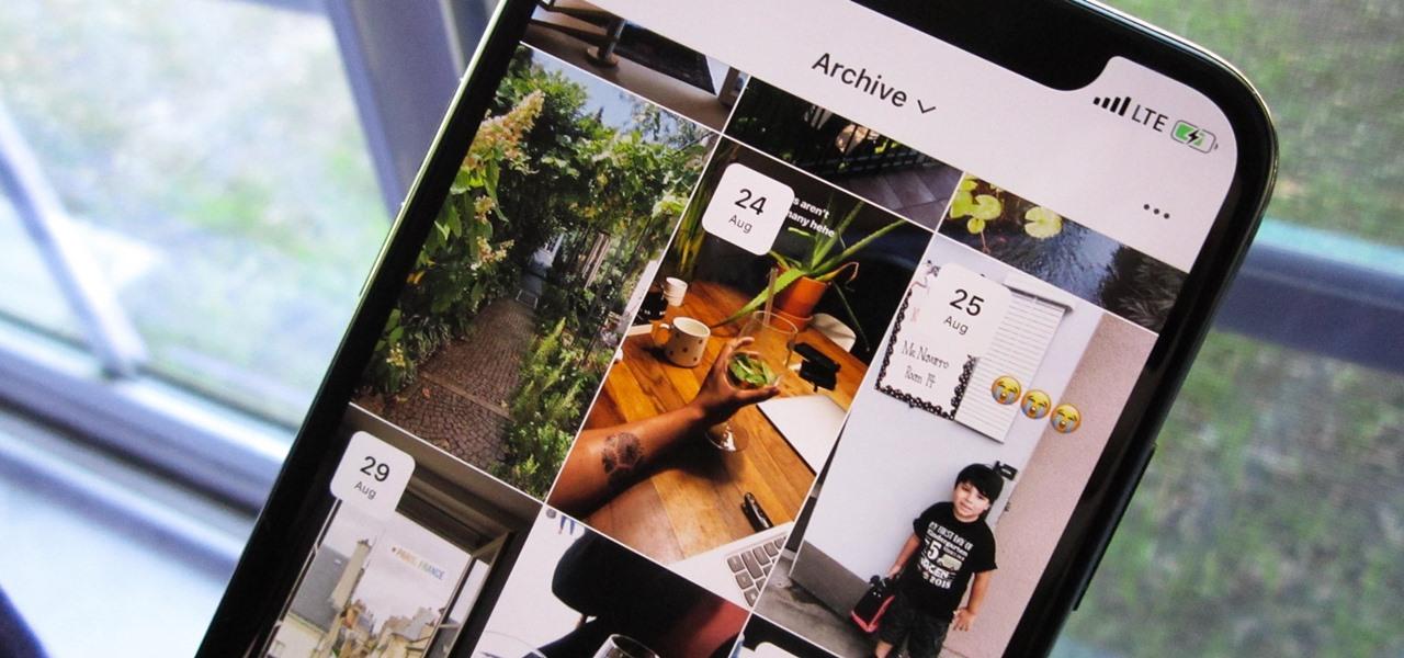 instagram'ın yeni arşiv özellikleri, instagram arşiv,