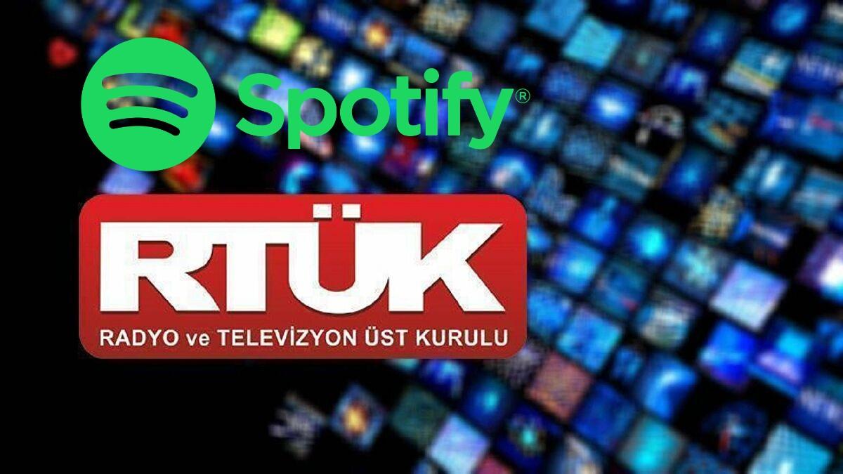 RTÜK'ten Spotify