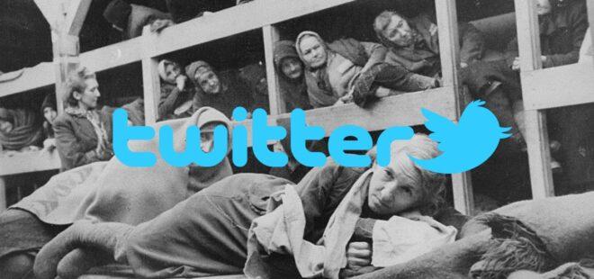 twitter holokost, twitter politika,