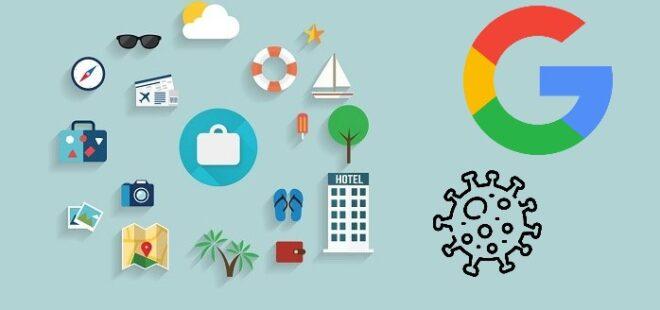 google covid-19, google travel