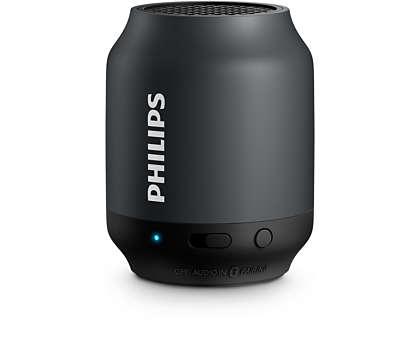 Philips taşınabilir bluetooth hoparlör