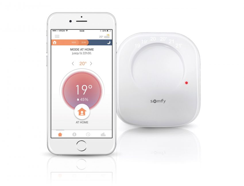 Somfy akıllı termostat