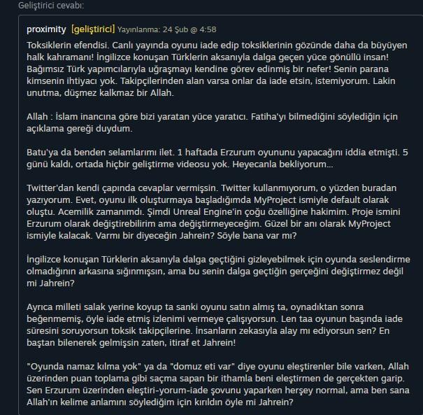 Erzurum oyunu