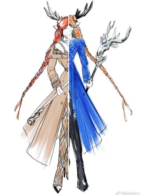 Burberry, Honor of Kings için kostüm tasarladı