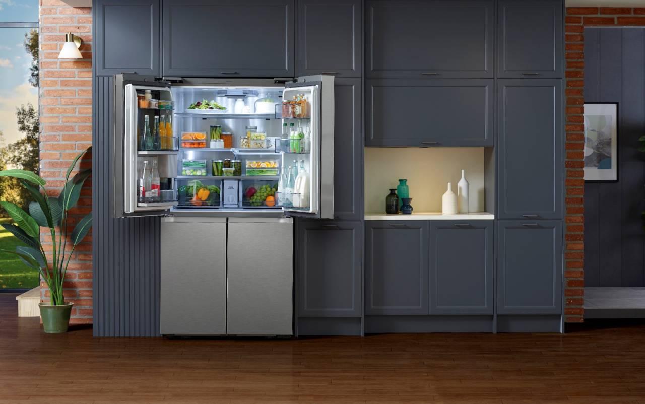 samsung 4 kapılı buzdolabi