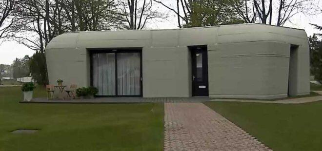 3 boyutlu yazıcıyla inşa edilen evin ilk kiracısı belli oldu
