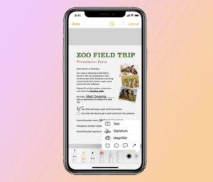 iPad veya iPhone ile nasıl belge taranır