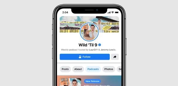 Facebook kendi podcast servisini başlatıyor