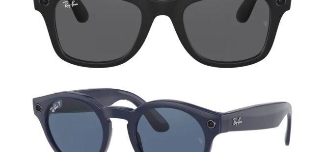 Facebook ray-ban akıllı gözlük 2