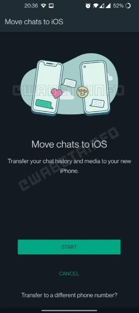 Whatsapp mesaj geçmişi aktarımı